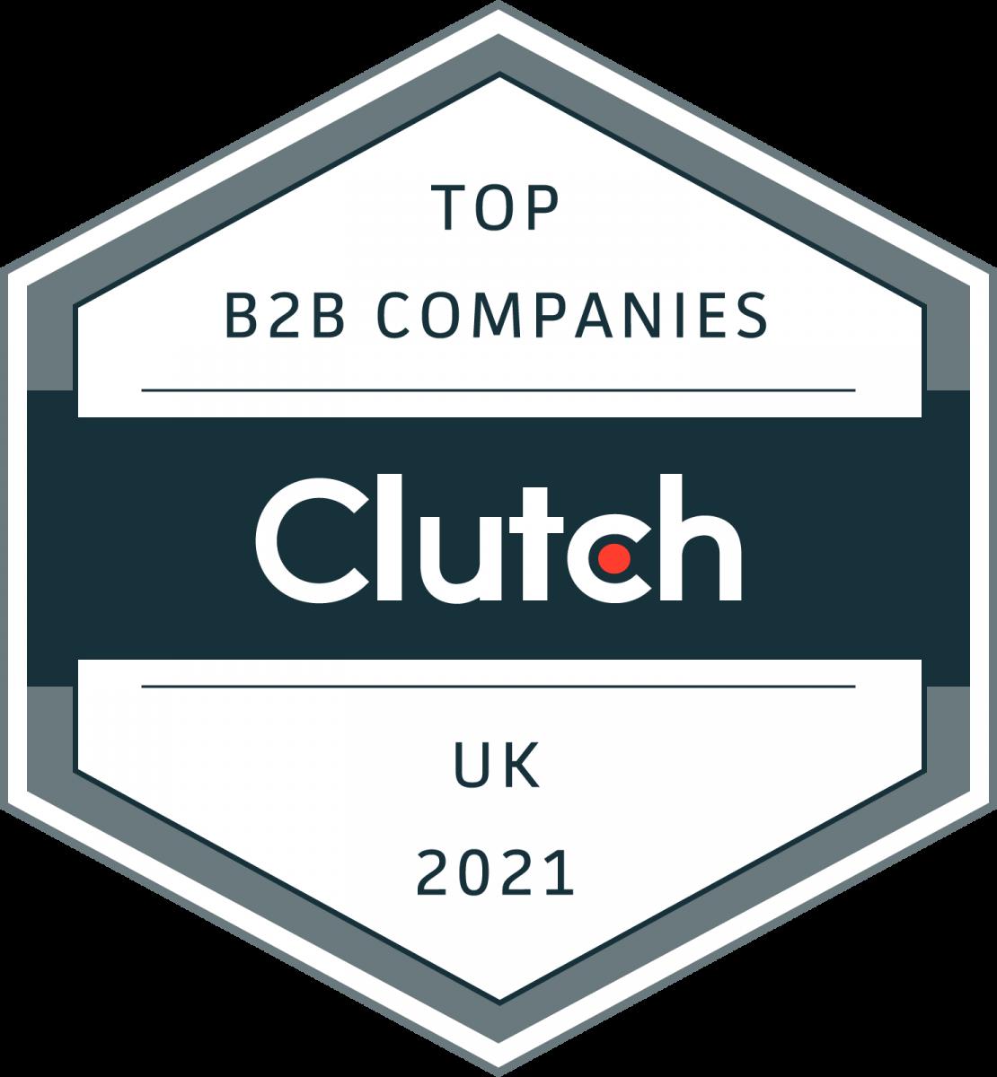 Top B2B Companies UK 2021
