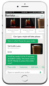 Starbucks Barista Beta Chatbox