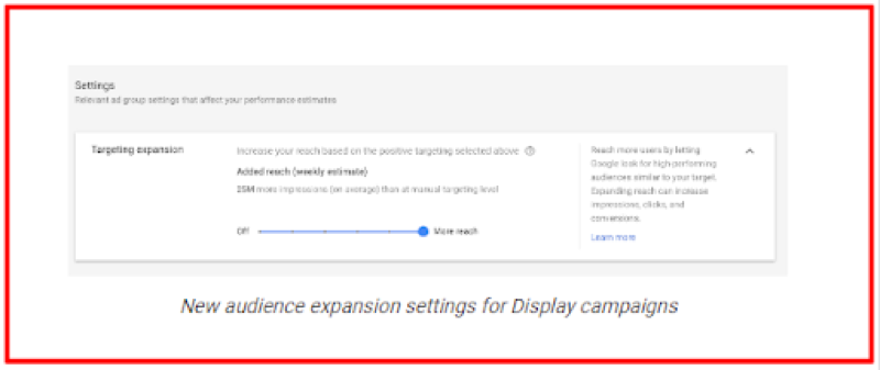 Google Audience Expansion