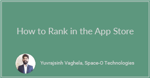 How to Rank in the App Store