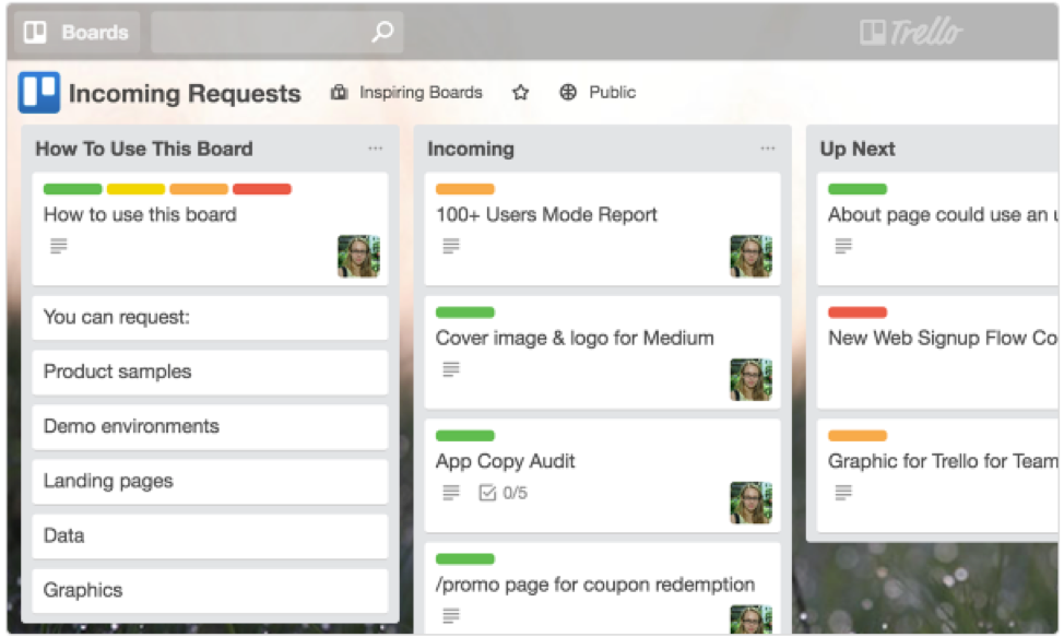 Trello can help companies manage projects efficiently.