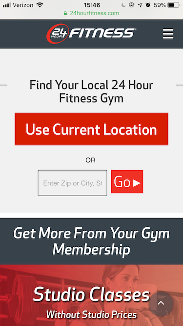 24 hour fitness design