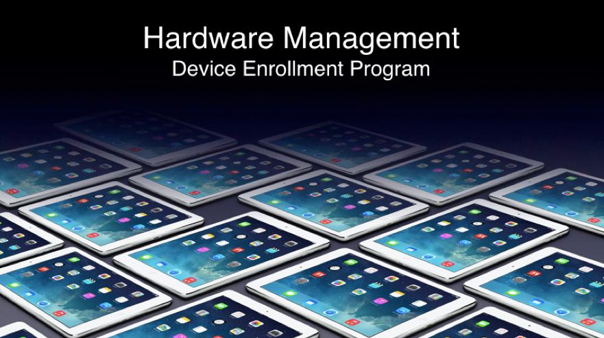 Hardware Management Device Enrollment Program