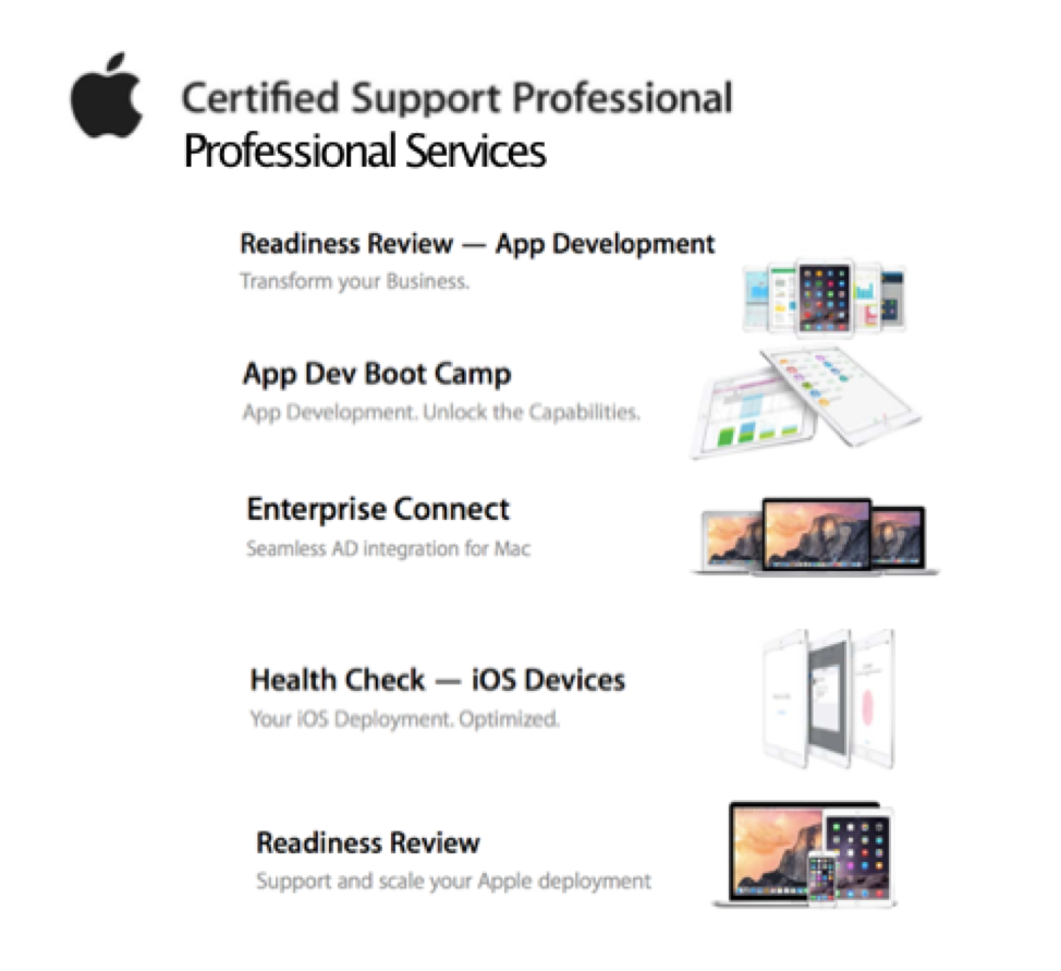 Apple Certified Support Professional Services