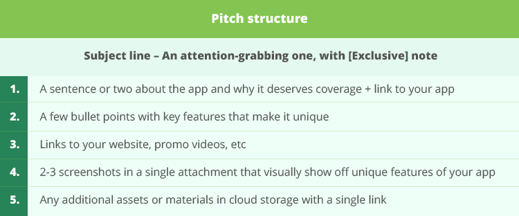 Pitch structure