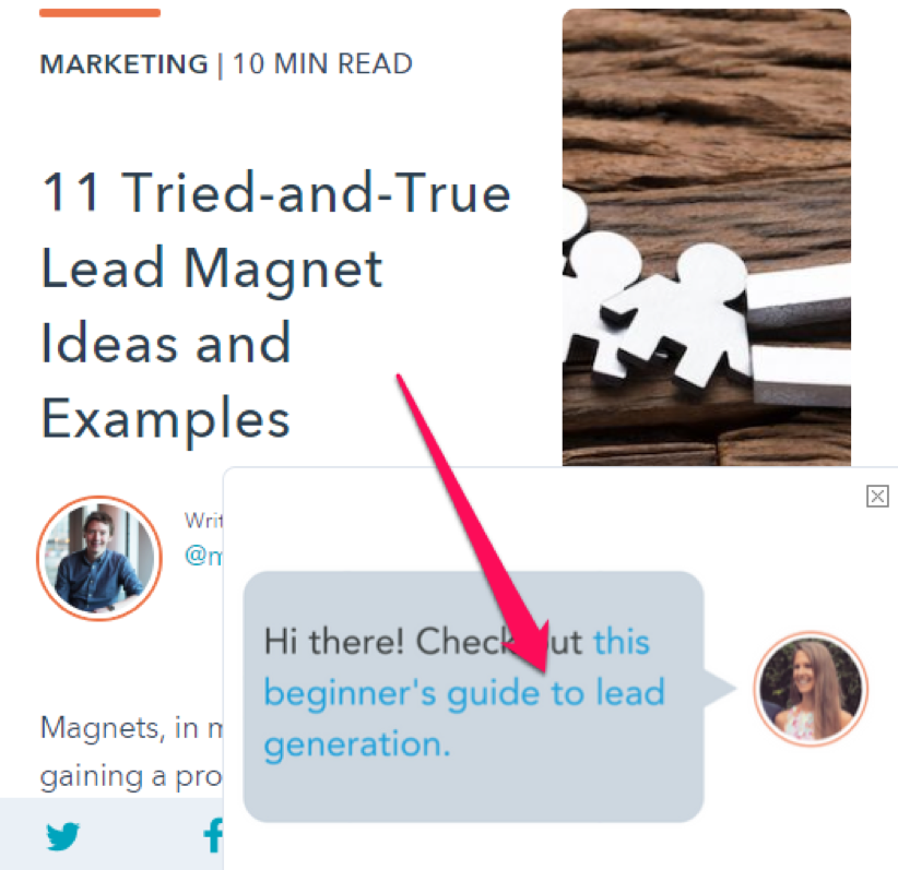 HubSpot Lead Magnet Ideas