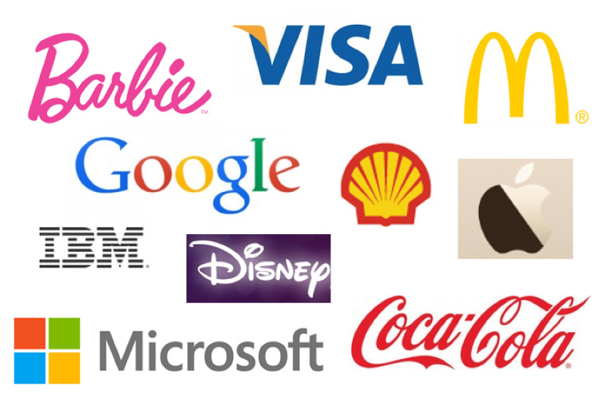 Barbie, Google, Visa, and Disney are among the most iconic logos of all time.