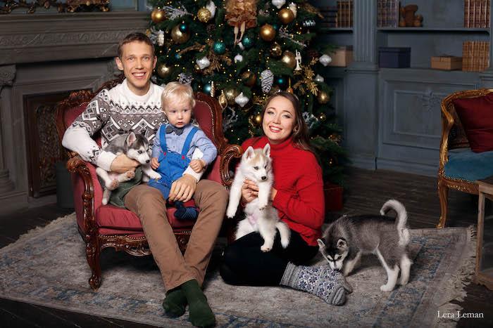 Nikita and his family