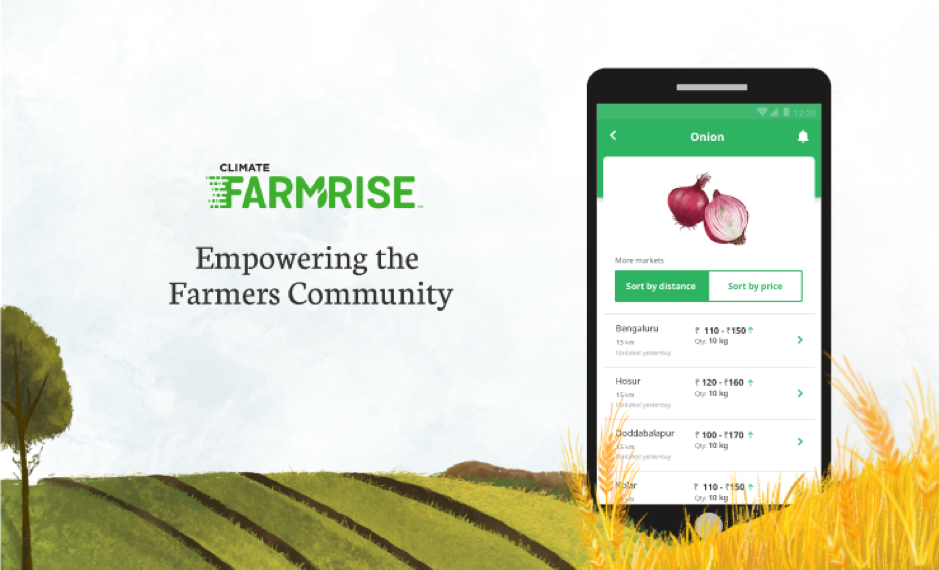 Farmrise was designed to help the Indian farmer community optimize their resources.