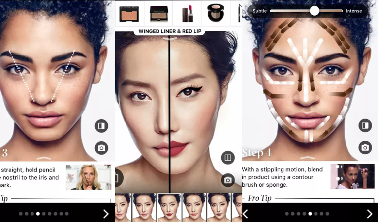 Sephora is already using AR technology-powered apps which allow customers to 'try on' cosmetics before purchasing.