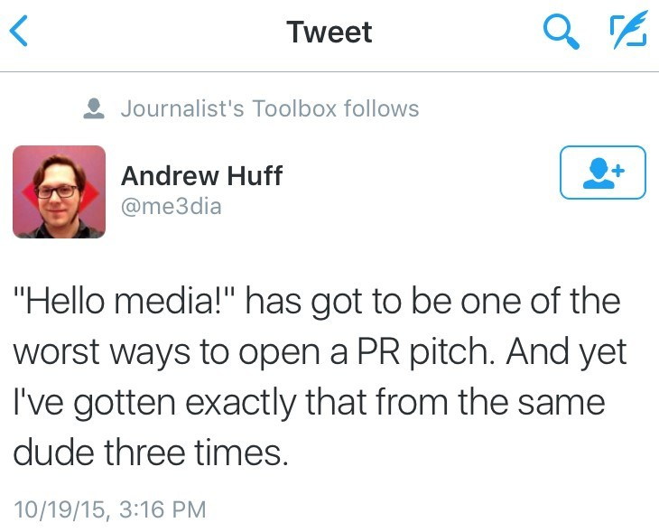 Journalist toolbox