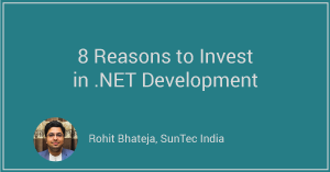 8 Reasons to Invest in .Net Development