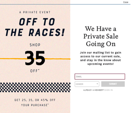 Lucky Brand Incentive Discount