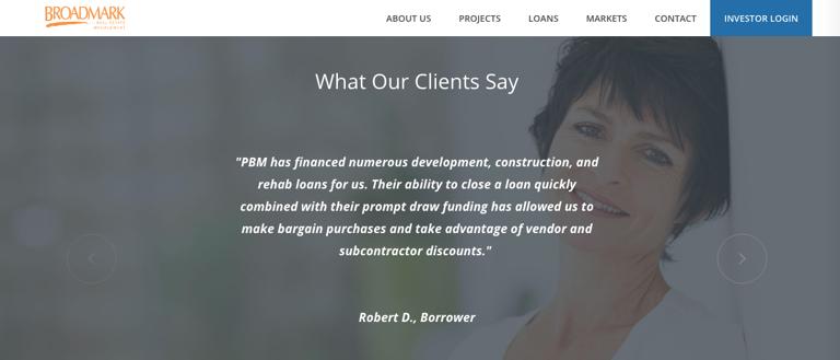 Broadmark Positive Client Reviews