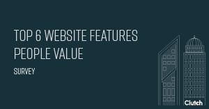 top 6 website features people value