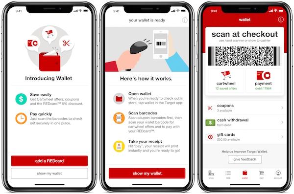 target wallet app