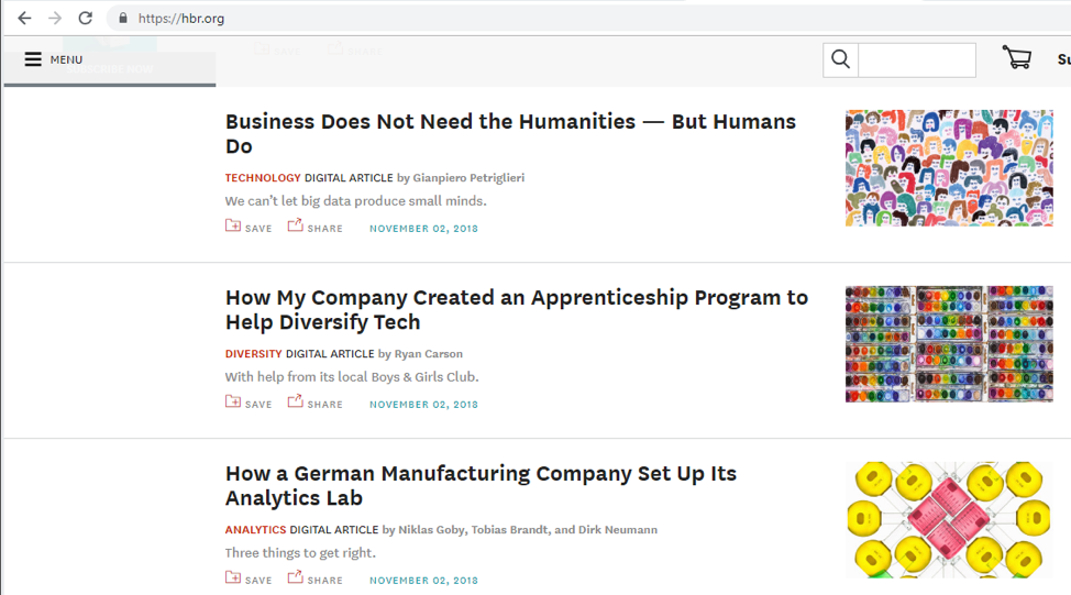 HBR adds new content frequently.