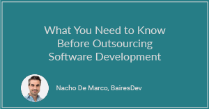 What You Need to Know Before Outsourcing Software Development