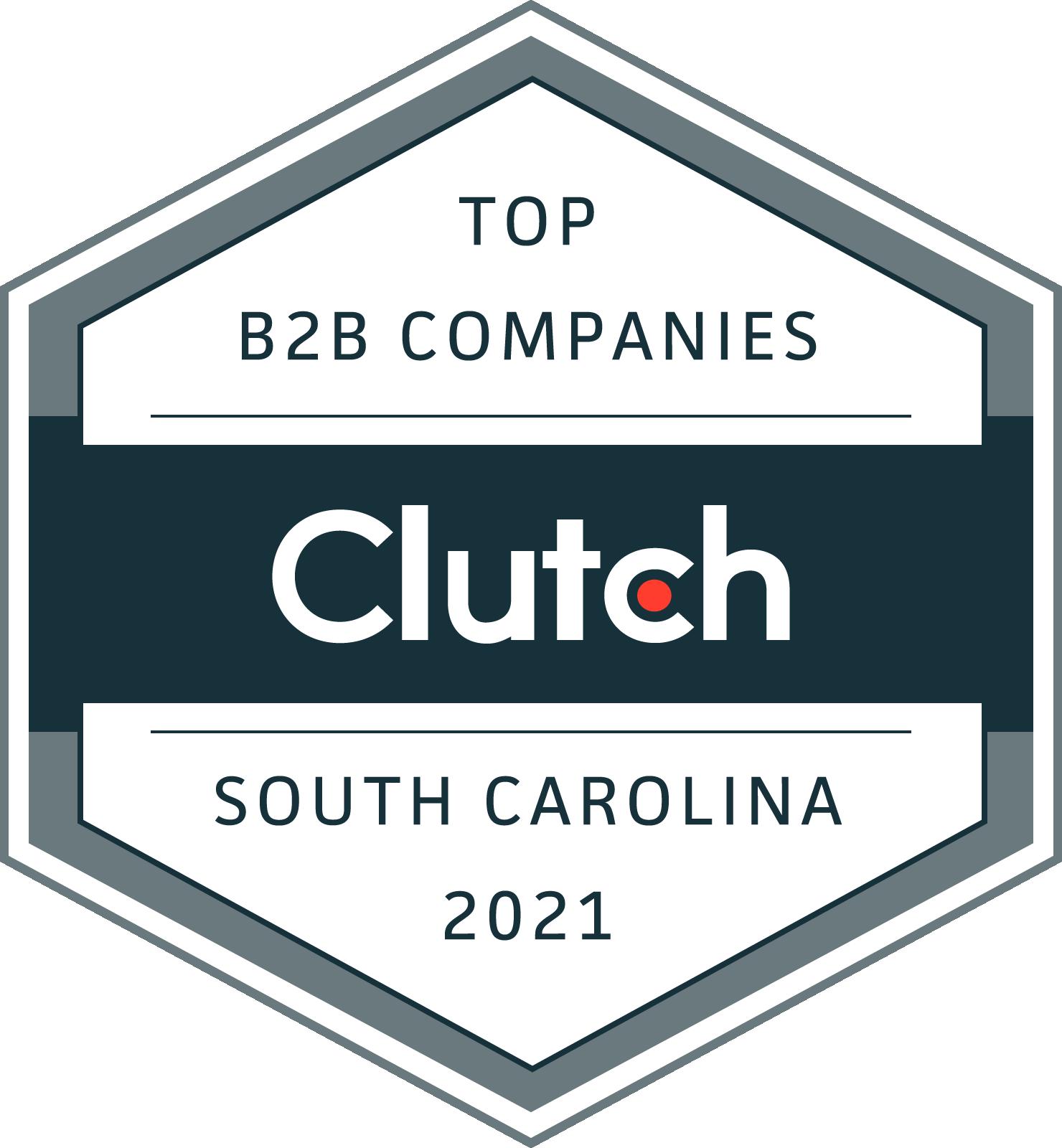 South Carolina B2B Leaders Badge 2021