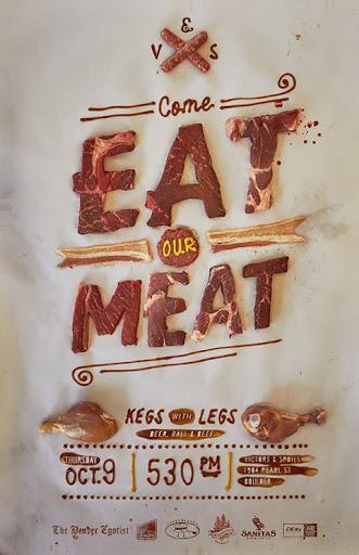 Typographic ad example