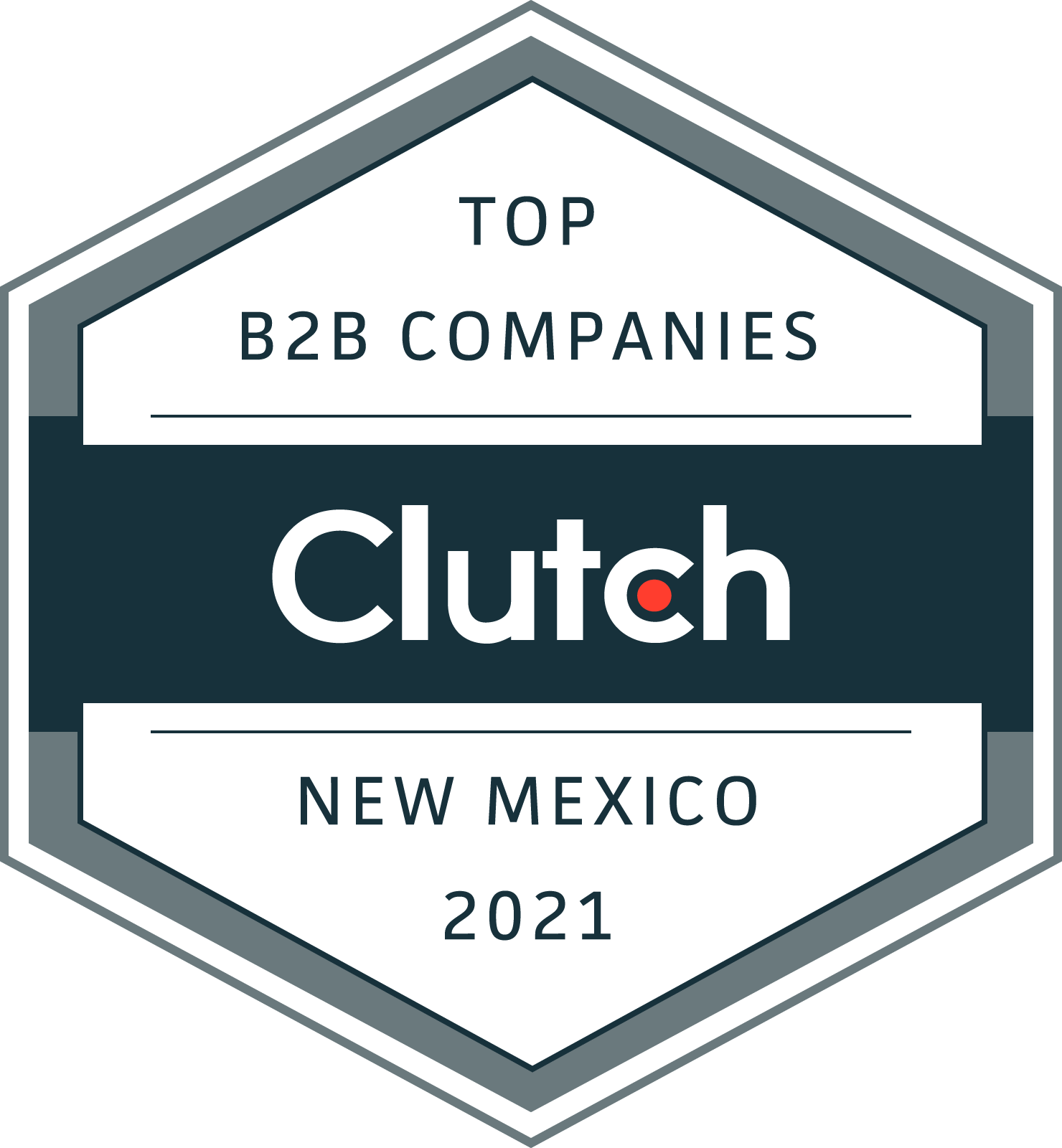 New Mexico B2B Leaders Award Badge