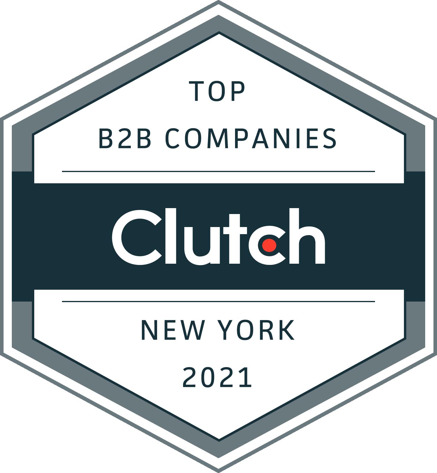 New York B2B Leaders Badge 2021