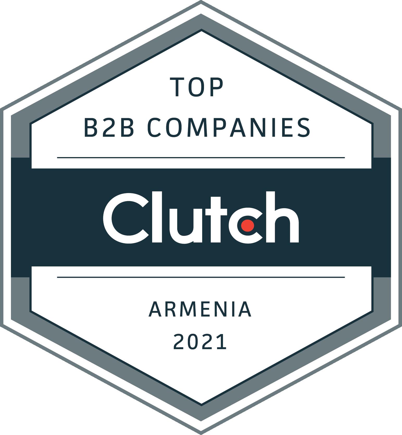 Armenia B2B Leaders Badge 2021