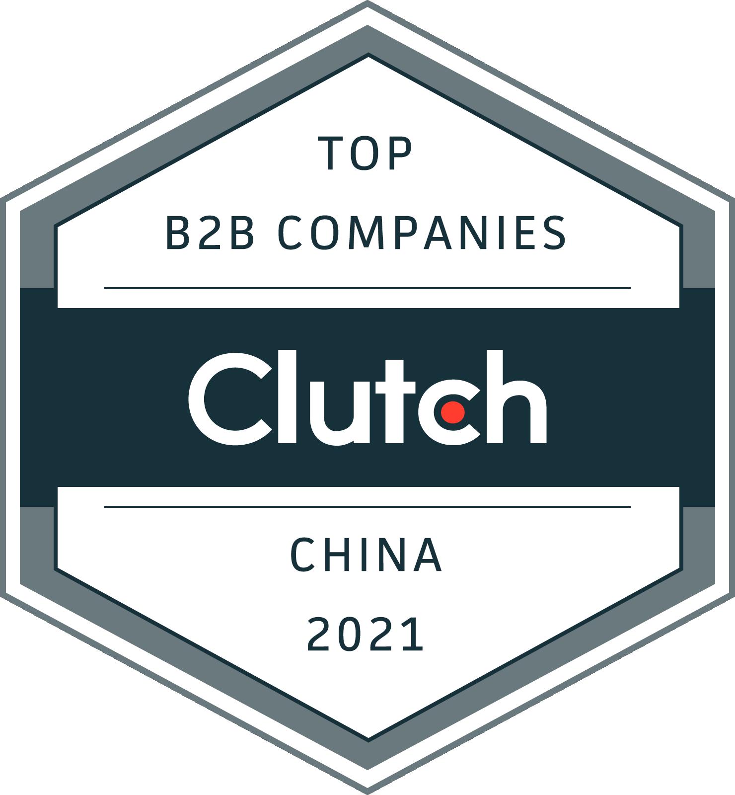 China B2B Leaders Badge 2021