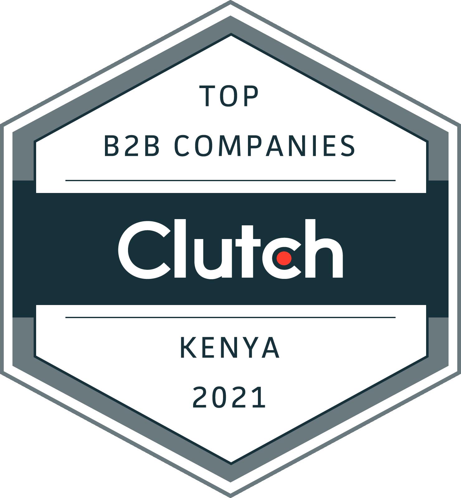 Kenya B2B Leaders Badge 2021