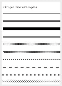Example of Styled Lines
