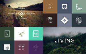 logo design mood board and inspiration images