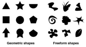 Geometric vs. Freeform Shapes