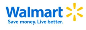 Walmart tagline and logotype
