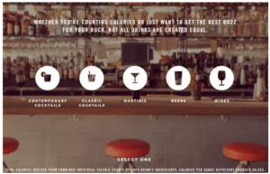 Interactive graphic example