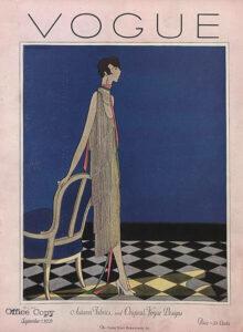 vogue brand evolution example 1920