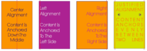 Alignment examples