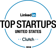Clutch named a LinkedIn top startup in 2018