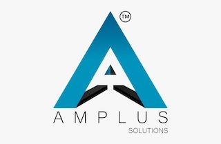 AMPLUS SOLUTIONS Logo