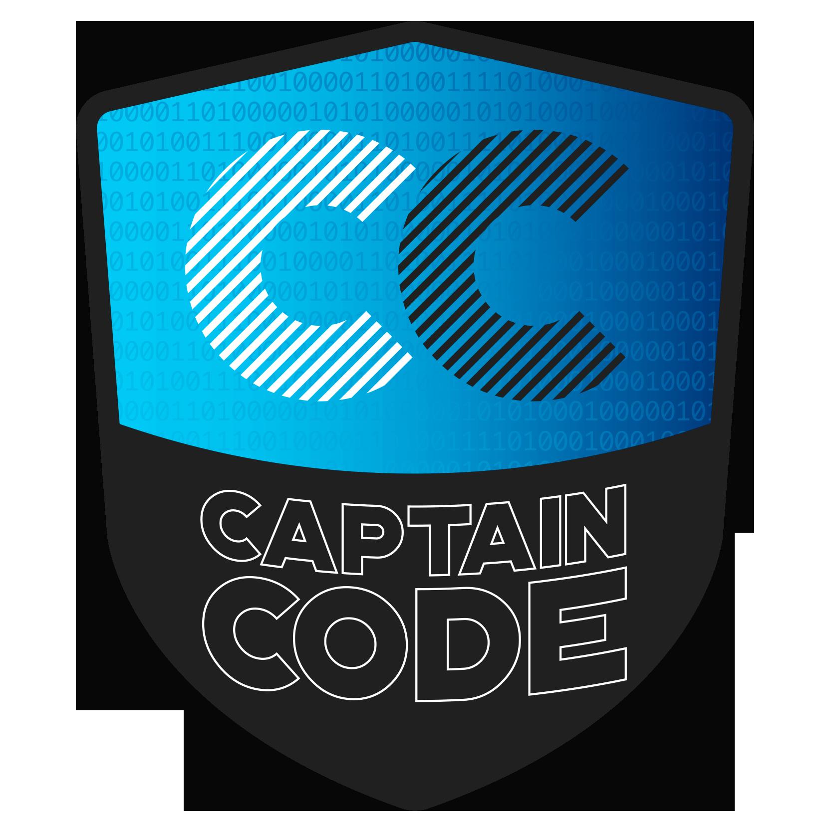 Captain Code Logo