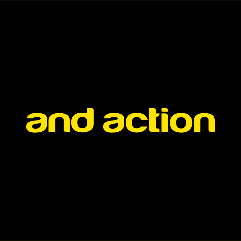 AND ACTION Logo