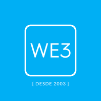 WE3 - Marketing Digital Logo