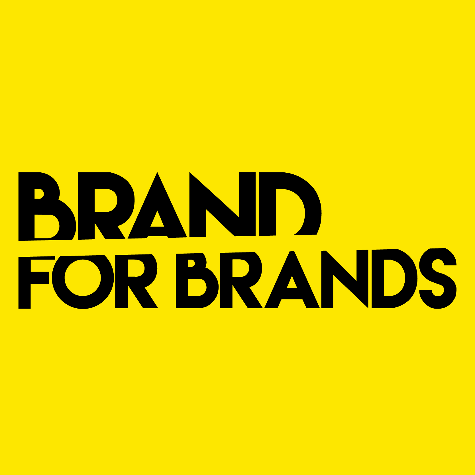 Brand for Brands Agency Logo