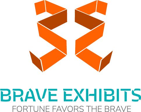 Brave Exhibits Logo