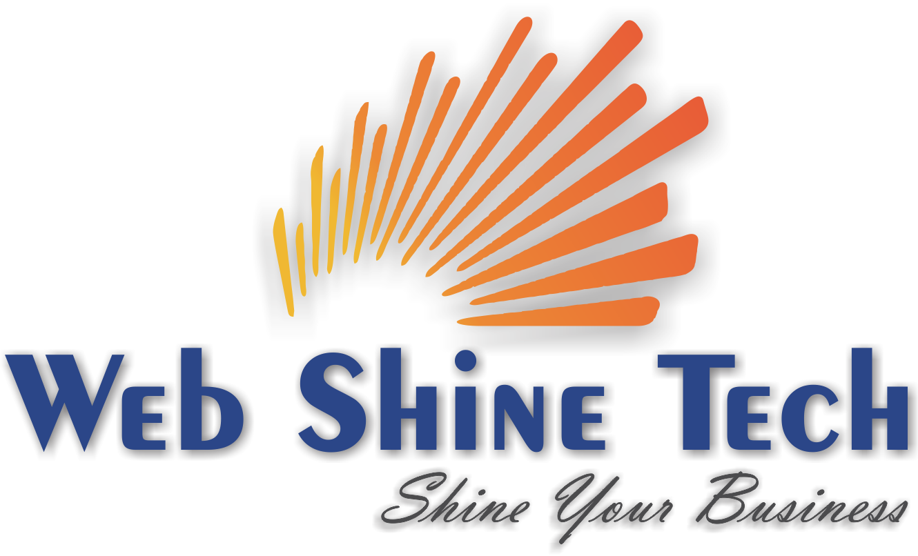 WEB SHINE TECH Logo