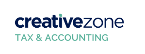 CreativeZone Tax & Accounting Logo