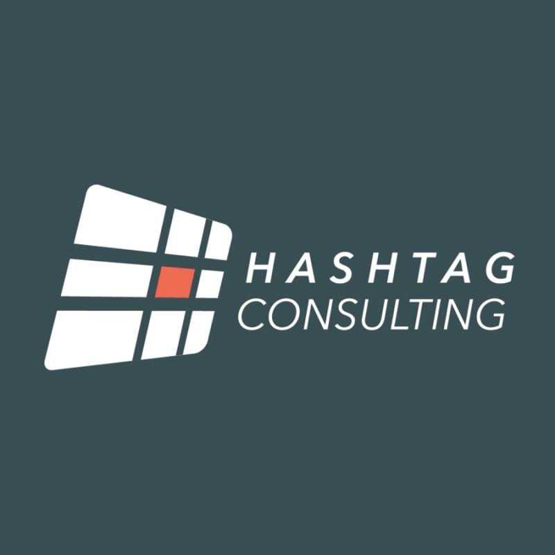 Hashtag Startup Logo