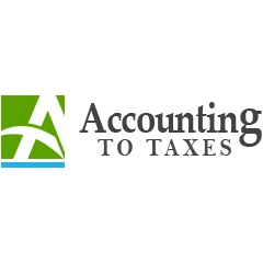 Accounting To Taxes Logo