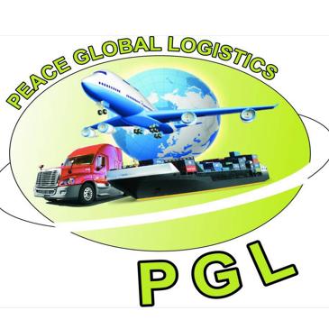 Peace Global Logistics Logo
