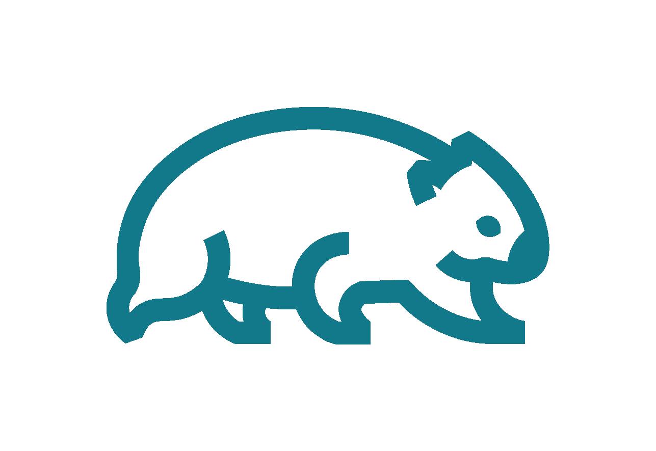 Go Wombat Logo