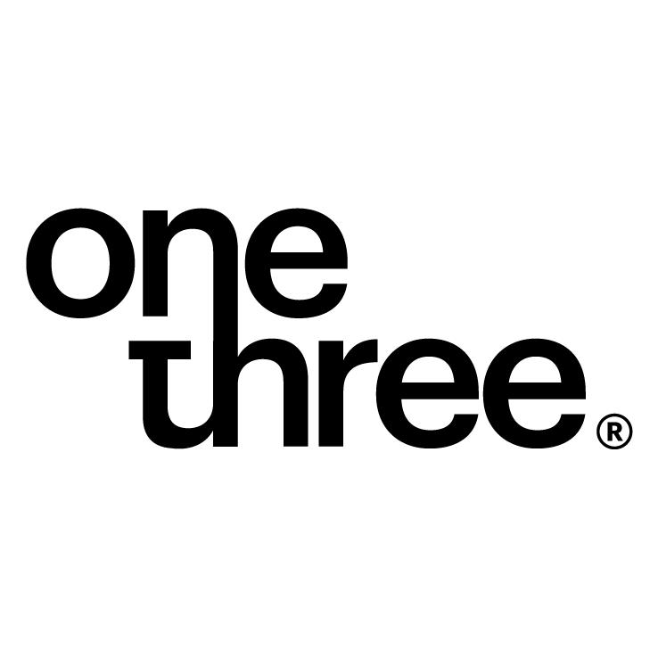 One over three Logo